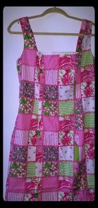 Lilly Pulitzer Brycer patchwork shift dress